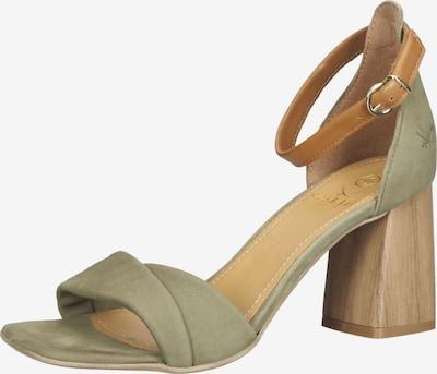 SANSIBAR Strap Sandals in Green, Item view