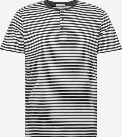 TOM TAILOR T-Shirt in schwarz / weiß, Produktansicht