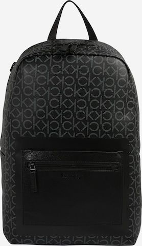 Calvin Klein Rucksack 'ROUND' в черно
