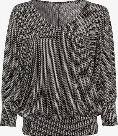 zero Shirt in dunkelgrün / weiß, Produktansicht
