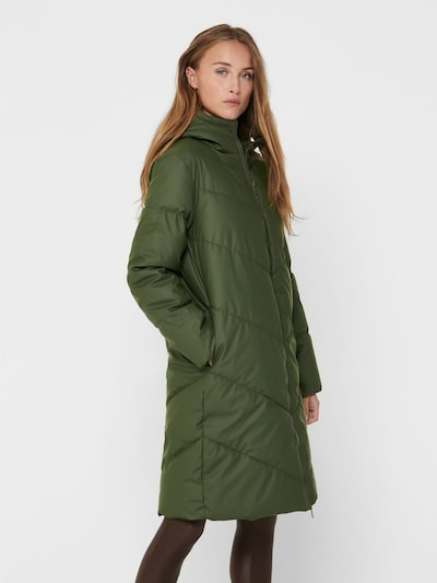 JDY Jacke 'Ulrikka' in grün, Modelansicht