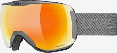 UVEX Brille 'Downhill' in dunkelgelb / grau / orange, Produktansicht