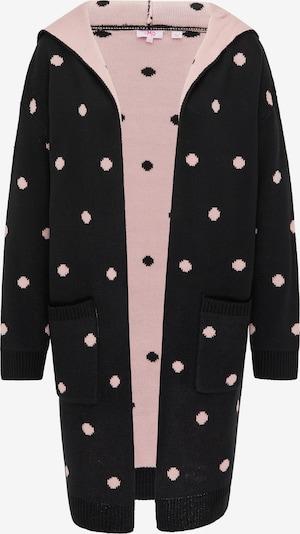 MYMO Cardigan in pink / schwarz, Produktansicht