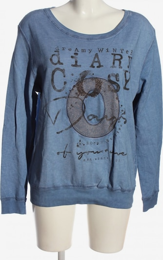 Soccx Sweatshirt in M in blau / schwarz, Produktansicht