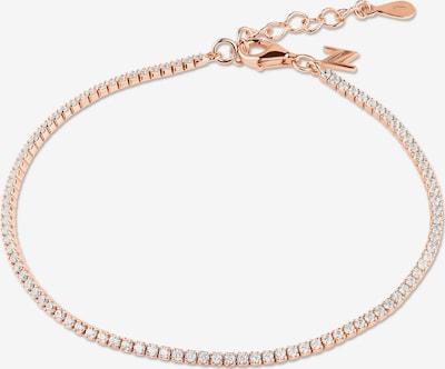 Nana Kay Armband 'Classic Solitaire' in rosé / silber, Produktansicht
