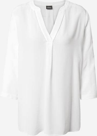 s.Oliver BLACK LABEL Blouse in white, Item view