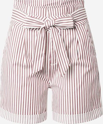 VERO MODA Hlače z naborki 'EVA' | rdeča / bela barva, Prikaz izdelka
