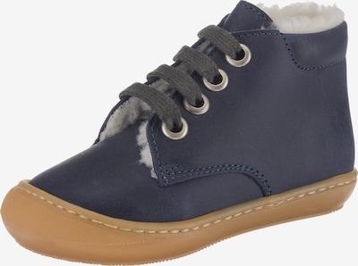 Däumling Lauflernschuh in blau, Produktansicht