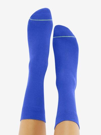 CHEERIO* Socken 'BEST FRIEND' in kobaltblau: Rückansicht