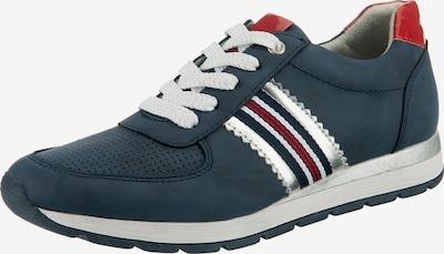JANE KLAIN Sneaker in dunkelblau / rot / weiß, Produktansicht