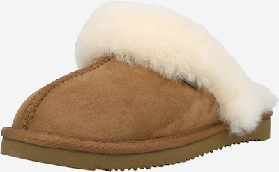 BULLBOXER Slippers in Brocade / Wool white, Item view