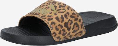 PUMA Plážová/koupací obuv - hnědá / černá, Produkt