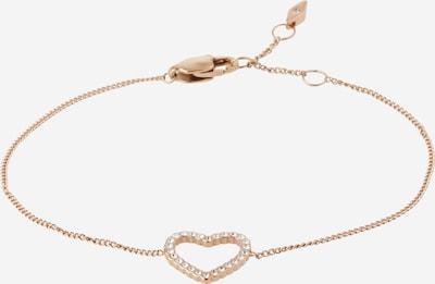 FOSSIL Náramek 'Open Heart Rose Gold-Tone' - růžově zlatá, Produkt