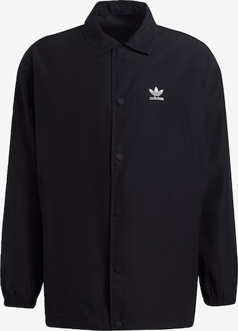 ADIDAS ORIGINALS Φθινοπωρινό και ανοιξιάτικο μπουφάν σε μαύρο