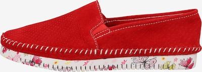 COSMOS COMFORT Instappers in de kleur Gemengde kleuren / Rood, Productweergave