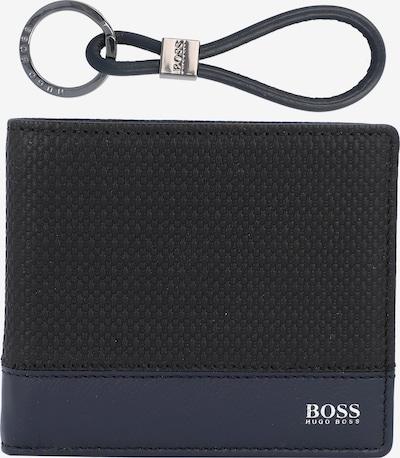 BOSS Casual Portemonnee in de kleur Blauw / Zwart, Productweergave
