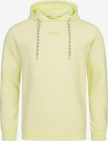 INDICODE Μπλούζα φούτερ 'Bentley' σε κίτρινο