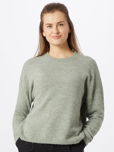 ONLY Pullover 'Janny' in grün: Frontalansicht