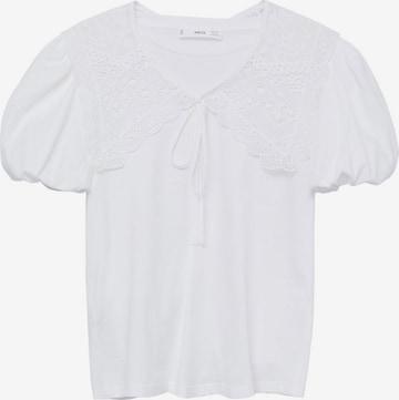 MANGO Shirt 'BOBBY' in Wit