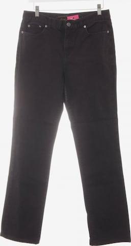 Lauren Jeans Co. Straight-Leg Jeans in 29 in Schwarz