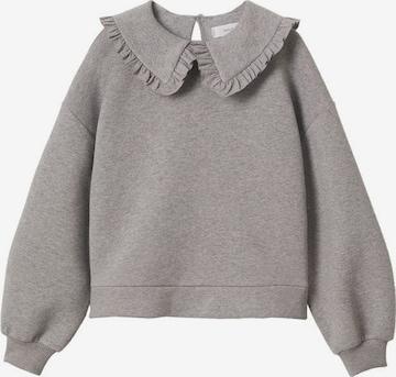 Sweat-shirt MANGO KIDS en gris