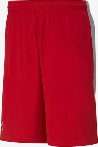PUMA Sporthose in Rot