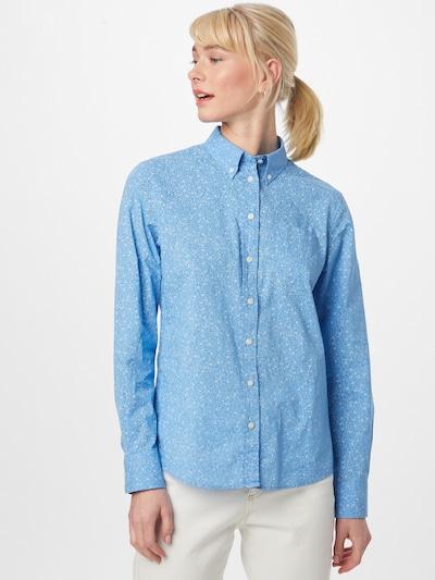 GANT Bluse 'FREEDOM' in royalblau / weiß, Modelansicht