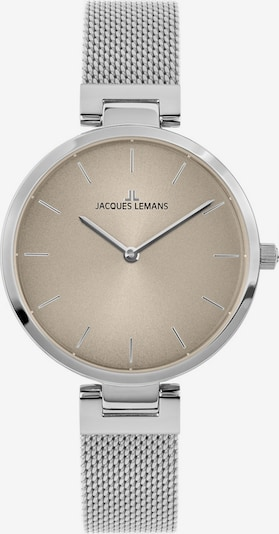 Jacques Lemans Uhr in taupe / silber, Produktansicht