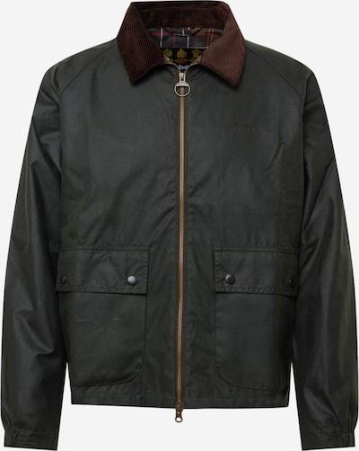 Barbour Jacke in dunkelgrün, Produktansicht
