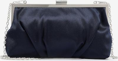 TAMARIS Clutch ' Amalia ' in de kleur Marine / Zilver, Productweergave