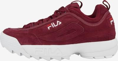 FILA Sneaker in rot / weiß, Produktansicht