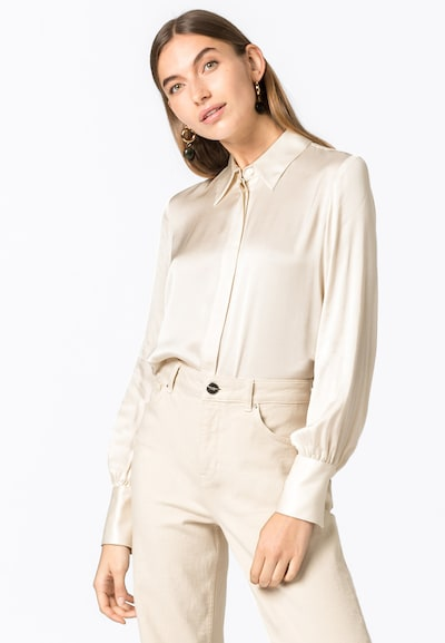 HALLHUBER Bluse in creme, Modelansicht