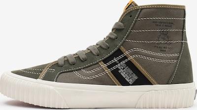 VANS Sneaker in safran / khaki / oliv / schwarz / weiß, Produktansicht