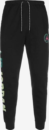 Jordan Jogginghose in hellgrün / schwarz / weiß, Produktansicht