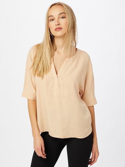 COMMA Bluse in beige, Modelansicht