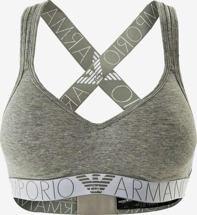 Emporio Armani BH in grau / weiß, Produktansicht