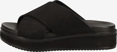SHABBIES AMSTERDAM Pantoletten in schwarz, Produktansicht