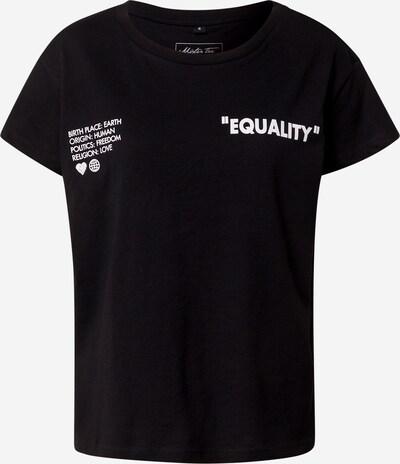Merchcode Shirt in schwarz / weiß, Produktansicht