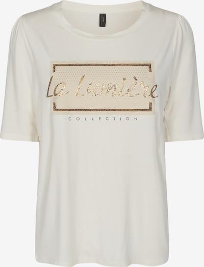 Soyaconcept Shirt 'GENEVA' in beige / gold / offwhite, Produktansicht