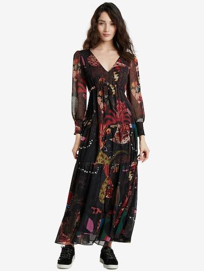 Desigual Šaty 'VIENA' - hnědá / mix barev, Model/ka