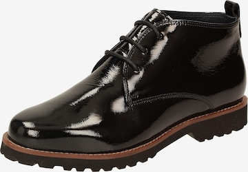 SIOUX Lace-Up Ankle Boots ' Meredith-702-H ' in Black