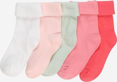 OVS Socken in mint / rosa / pitaya / weiß, Produktansicht