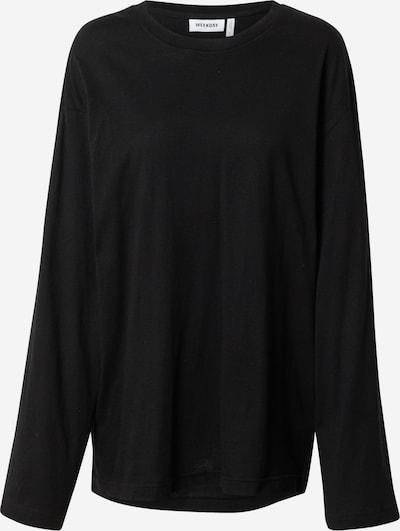 WEEKDAY T-shirt 'Smash' en noir, Vue avec produit