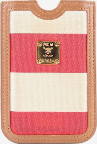 MCM Handytasche in One Size in Rot