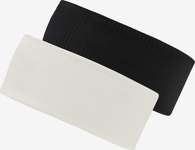 chillouts Hoofdband in de kleur Zwart / Wit, Productweergave