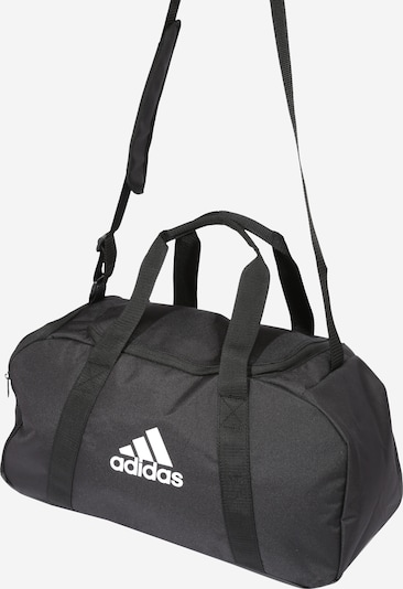 ADIDAS PERFORMANCE Sports Bag in Anthracite / White: Frontal view