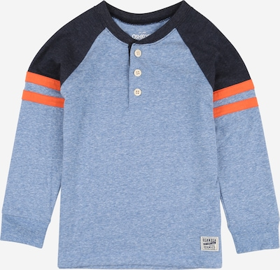OshKosh Shirt in marine / rauchblau / orange, Produktansicht
