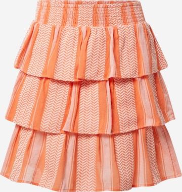 Cecilie Copenhagen Skirt 'Becky' in Orange