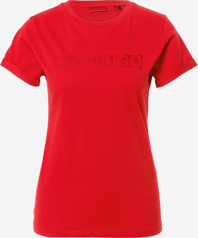 HUGO T-Shirt in rot, Produktansicht