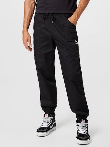 PUMA Cargo Pants in Black